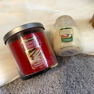 Yankee Candles Sparkling Cinnamon Christmas Cookie